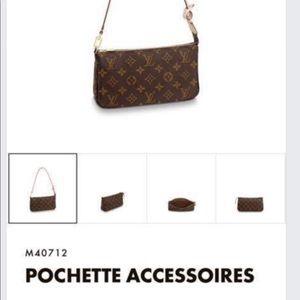 Louis Vuitton pouchette accessories